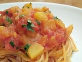 じゃがいものスパゲッティーニ